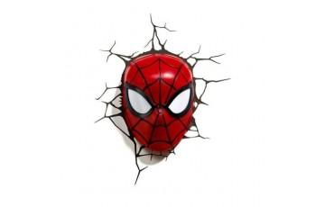 1CSC20002286 Пробивной 3D светильник 3DLightFx Spiderman Mask