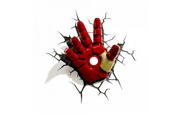 1CSC20002289 Пробивной 3D светильник 3DLightFx Classic Iron Man Hand