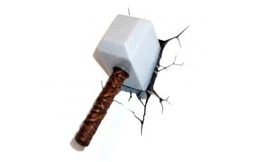 1CSC20002290 Пробивной 3D светильник 3DLightFx Thor Hammer