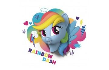 1CSC20002331 Детский 3D светильник 3DLightFx MLP Rainbow Dash