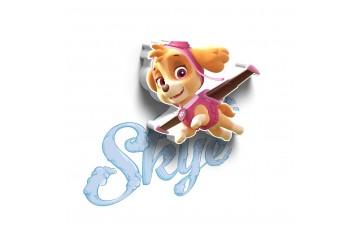 1CSC20002310 Детский 3D светильник 3DLightFx Paw Patrol Skye Mini