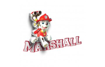 1CSC20002311 Детский 3D светильник 3DLightFx Paw Patrol Marshall Mini