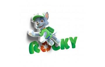 1CSC20002312 Детский 3D светильник 3DLightFx Paw Patrol Rocky Mini