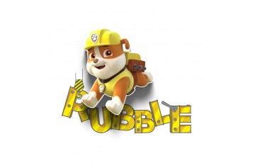 1CSC20002314 Детский 3D светильник 3DLightFx Paw Patrol Rubble Mini