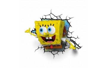 1CSC20002315 Пробивной 3D светильник 3DLightFx Spongebob