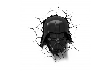 atr-000452 Пробивной 3D светильник 3DLightFx Star Wars Darth Vader Helmet