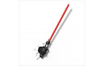 1CSC20002334 Пробивной 3D светильник 3DLightFx Star Wars Darth Vader Saber
