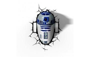 1CSC20002335 Пробивной 3D светильник 3DLightFx Star Wars R2D2