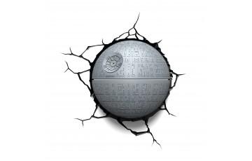 atr-000453 Пробивной 3D светильник 3DLightFx Star Wars Death Star