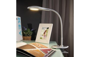 90198/1 серебристый Настольная лампа ЕВРОСВЕТ Smart