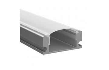 409429 Профиль с полукруглым рассеивателем для светодиодных лент 2м Lightstar PROFILED