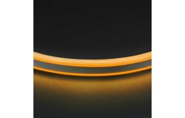 1м. Неоновая лента желтого цвета 9,6W, 220V, 120LED/m, IP65 Neoled Lightstar 430106