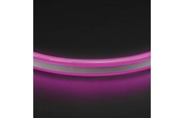 1м. Неоновая лента фиолетового цвета 9,6W, 220V, 120LED/m, IP65 Neoled Lightstar 430108