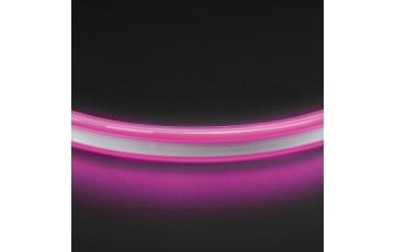 1м. Неоновая лента розового цвета 9,6W, 220V, 120LED/m, IP65 Neoled Lightstar 430109