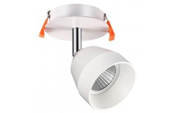 357453 NT18 000 Встраиваемый светодиодный светильник-спот Novotech SOLO
