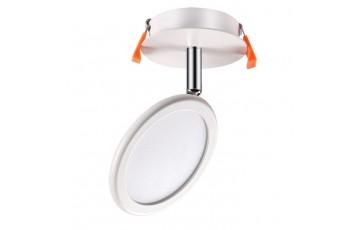357454 NT18 000 Встраиваемый светодиодный светильник-спот Novotech SOLO