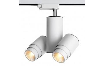 357553 NT18 000 Трековый светодиодный светильник Novotech ZEUS