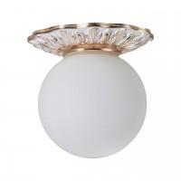 5007/20 PL-1 Накладной точечный светильник для ванной Divinare Isabella