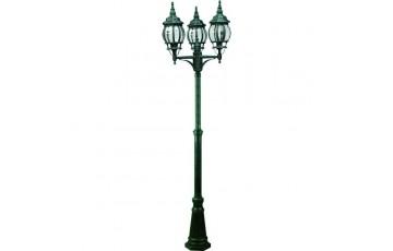 Садово-парковый светильник Arte Lamp Atlanta A1047PA-3BG