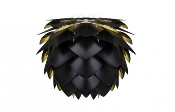 Плафон Silvia, black &  gold 02015
