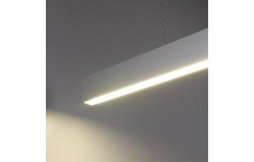 ССП подвесной односторонний 21W 1500Lm 128см профильный светодиодный светильник