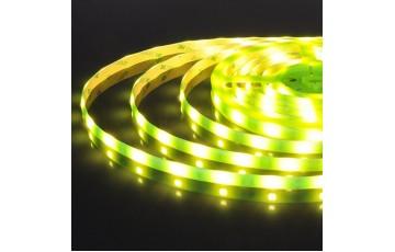 5м, Светодиодная лента 12V 30Led 7,2W IP65 зеленый 5050