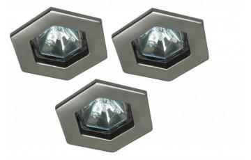 Встраиваемый светильник (в комплекте 3 шт.) Paulmann Hexa 99593